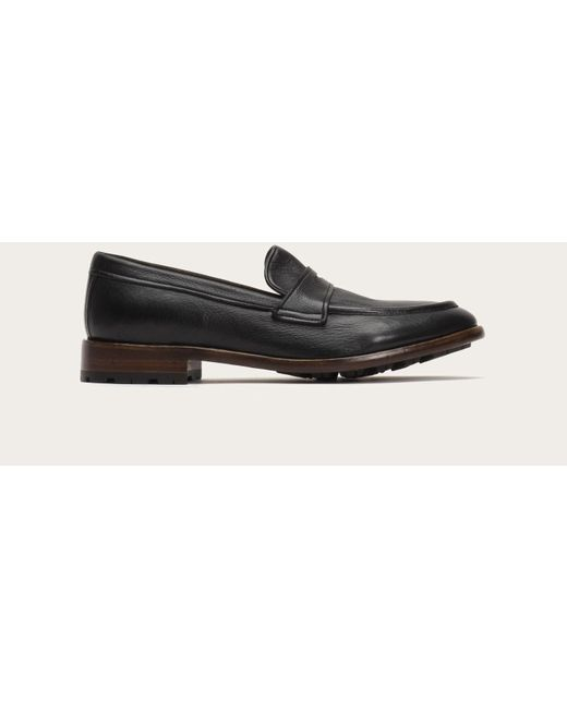Frye - Black Aiden Lug Penny for Men - Lyst