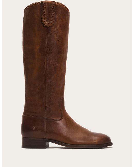 Frye | Brown Melissa Whip Tall | Lyst
