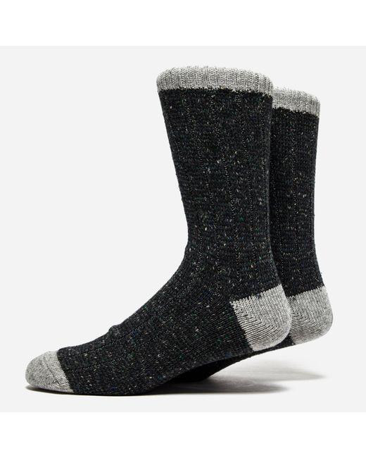 Anonymous Ism | Black Tweed Nep Socks for Men | Lyst
