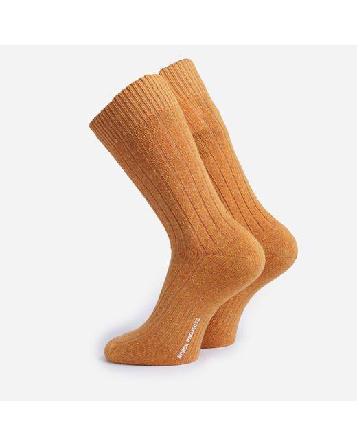 Norse Projects Multicolor Bjarki Neps Socks for men