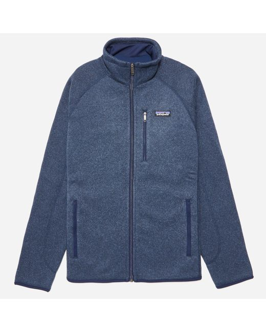Patagonia | Blue 'better Sweater' Zip Front Jacket for Men | Lyst