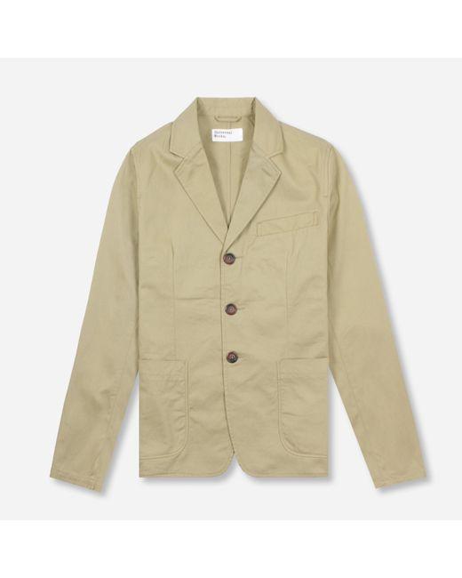 Universal Works Multicolor London Jacket for men