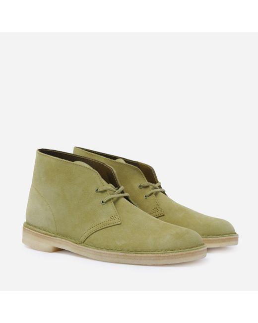 Clarks Green Desert Boot for men