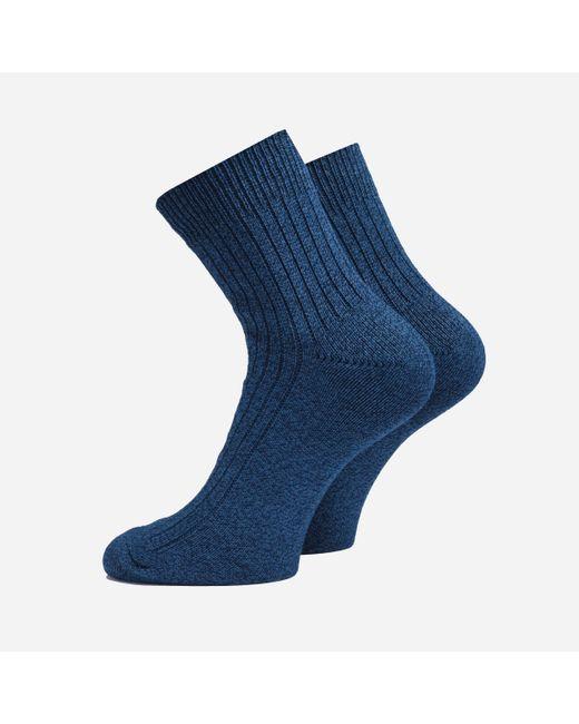Anonymous Ism Blue Paper Q Socks for men