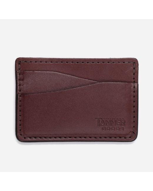 Tanner Goods Brown Journeyman Wallet for men