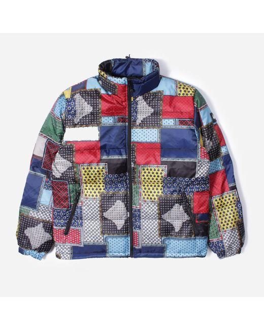 Stussy Multicolor Puffer Jacket for men