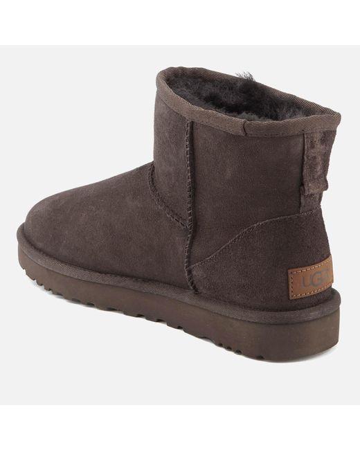 fcdeeb1671e UGG Classic Mini Ii Sheepskin Boots in Brown - Lyst