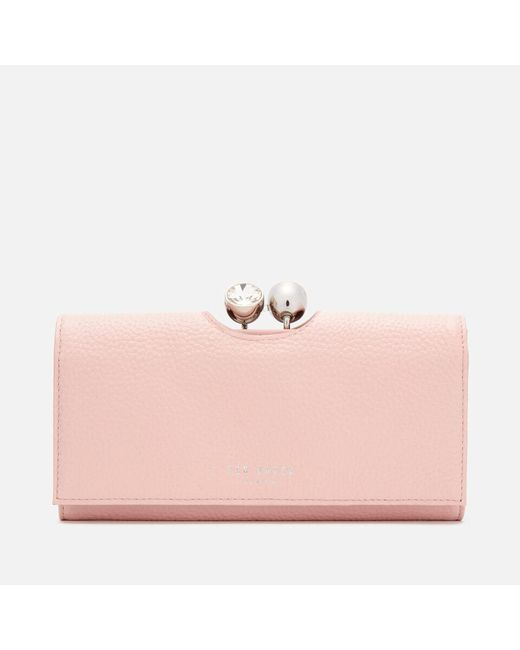Ted Baker Pink Crystal Bobble Matinee Purse