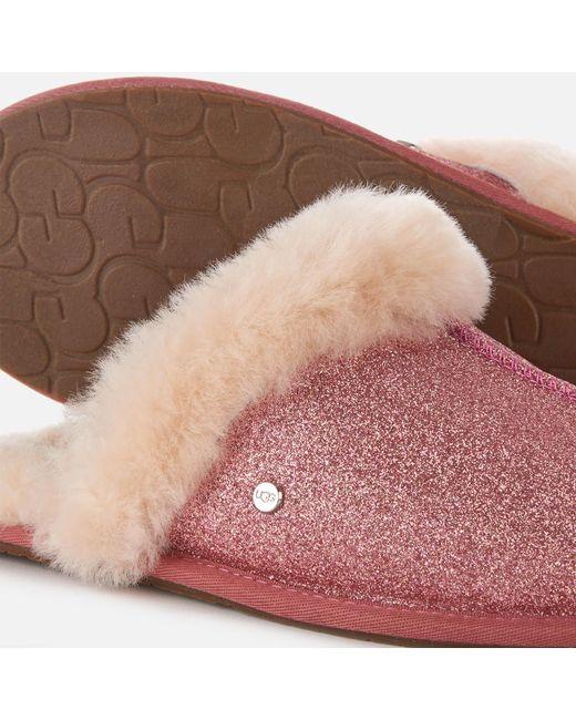 eaee9377b51 UGG Scuffette Ii Sparkle Slippers in Pink - Lyst