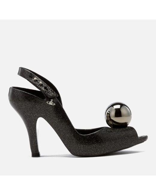 Melissa + Vivienne Westwood Anglomania | Black Lady Dragon 18 Heeled Sandals | Lyst