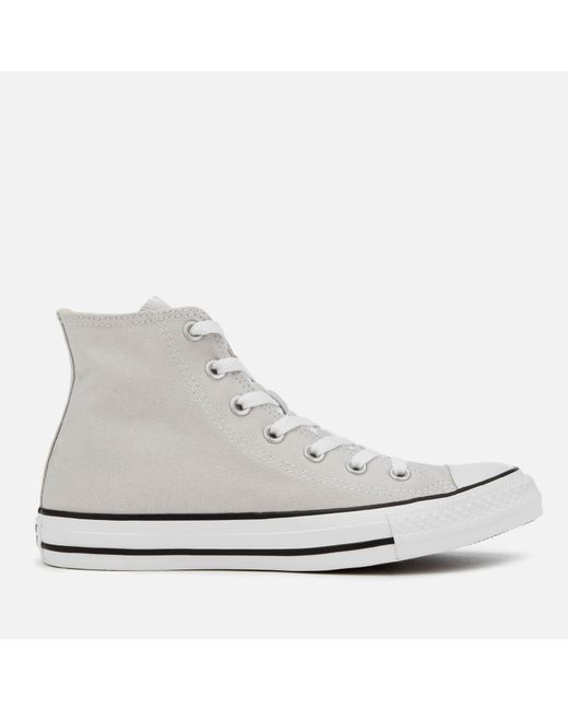 Converse - Gray Chuck Taylor All Star Seasonal Hi-top Trainers for Men - Lyst
