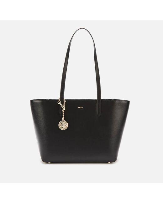 DKNY Black Bryant Medium Tote Sutton Bag