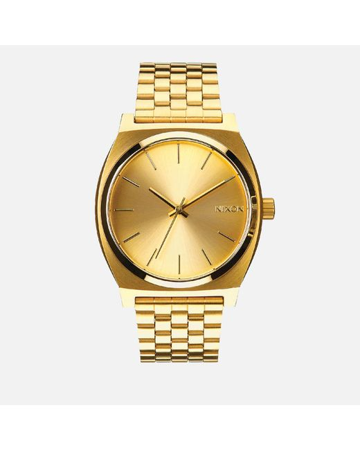 Nixon - Metallic The Time Teller Watch - Lyst