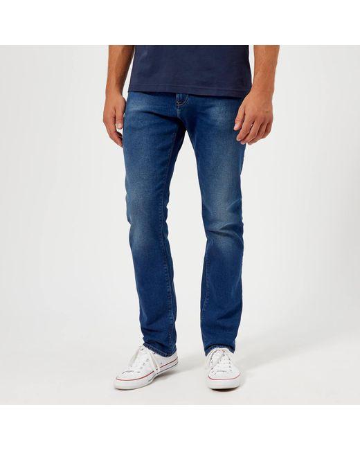 a9176af8 Tommy Hilfiger - Blue Slim Bleecker Jeans for Men - Lyst ...