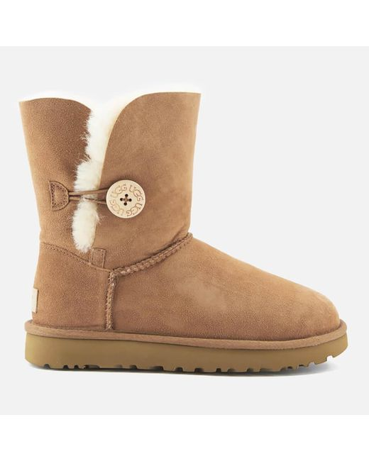 Ugg Brown Bailey Button Ii Chestnut Twinface Boot