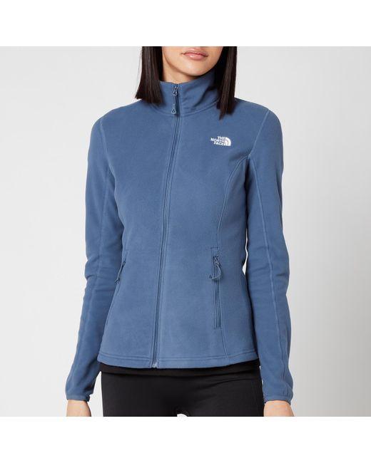 The North Face Blue Resolve Full Zip Fleece