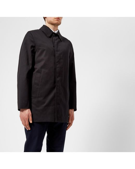 Aquascutum - Blue Berkeley Sb Raincoat for Men - Lyst