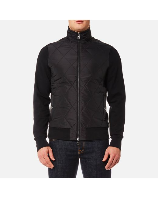 Michael Kors | Black Thermal Quilted Full Zip Jacket for Men | Lyst