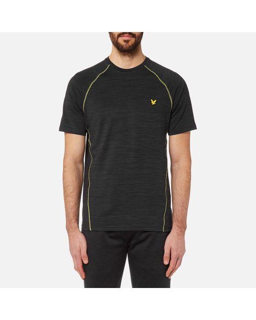5272dbb3b3b8 Lyle & Scott - Black Jones Training T-shirt for Men - Lyst ...