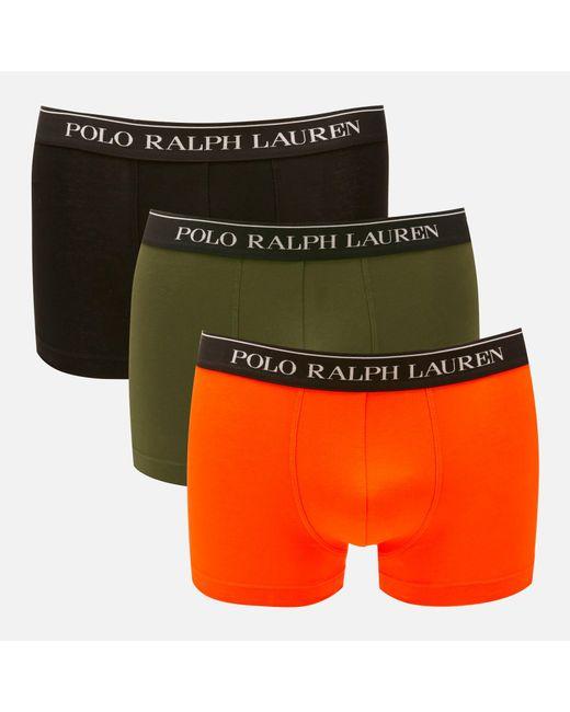 Classic Boxer Shorts Orange Trunk Men's Pack 3 8wOk0nP
