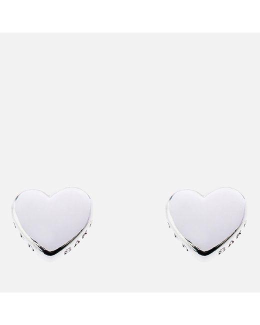 Ted Baker - Metallic Harly: Tiny Heart Stud Earrings - Lyst