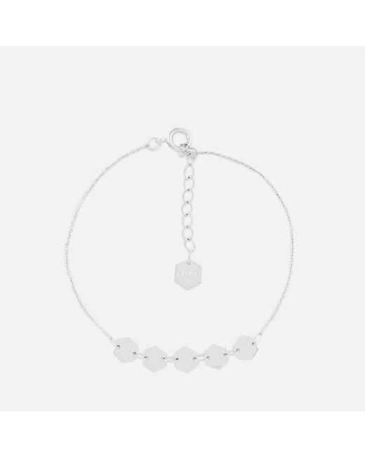 Cluse - Multicolor Essentielle Hexagons Chain Bracelet - Lyst