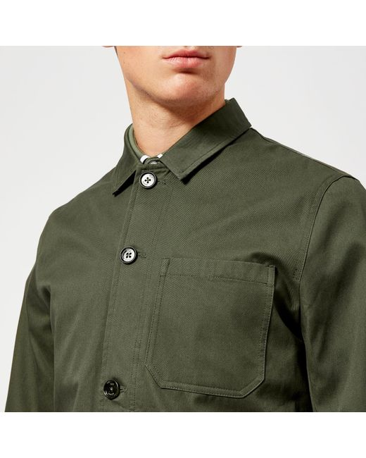 e0dd2abe082b87 ... Ted Baker - Green Grapes Workwear Jacket for Men - Lyst ...