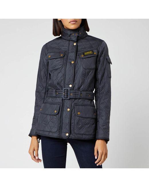 Barbour Blue Polarquilt Jacket