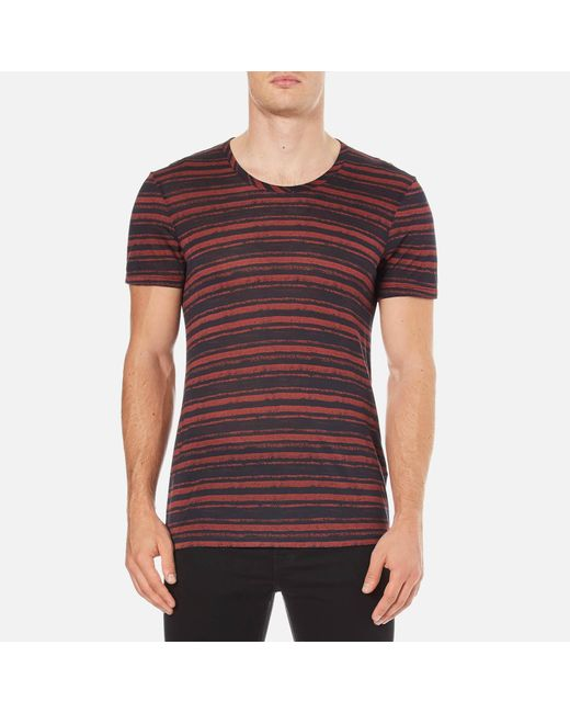 J.Lindeberg | Multicolor Teller Stripe T-shirt for Men | Lyst