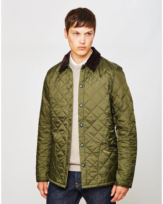 Barbour Heritage Liddesdale Quilted Jacket Green in Brown for Men ... : barbour heritage liddesdale quilted jacket - Adamdwight.com