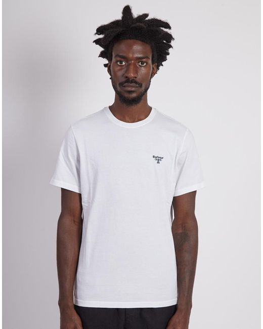 Barbour - Beacon T-shirt White for Men - Lyst