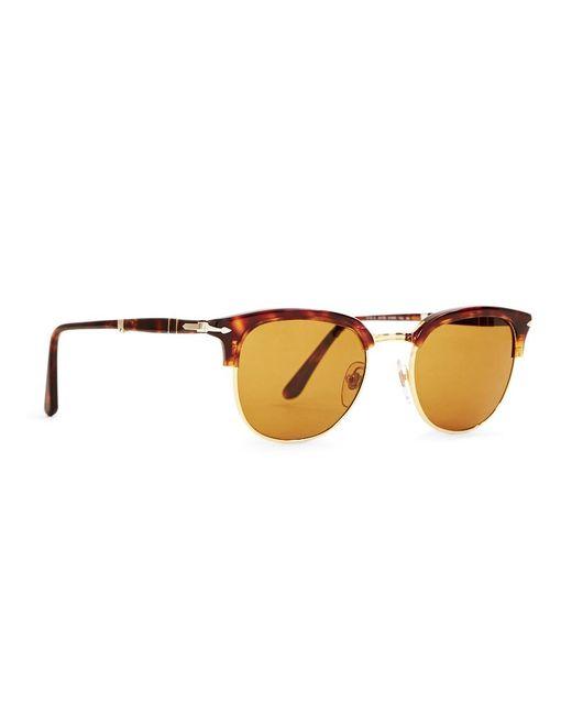 Persol - Suprema Icon Sunglasses Brown for Men - Lyst