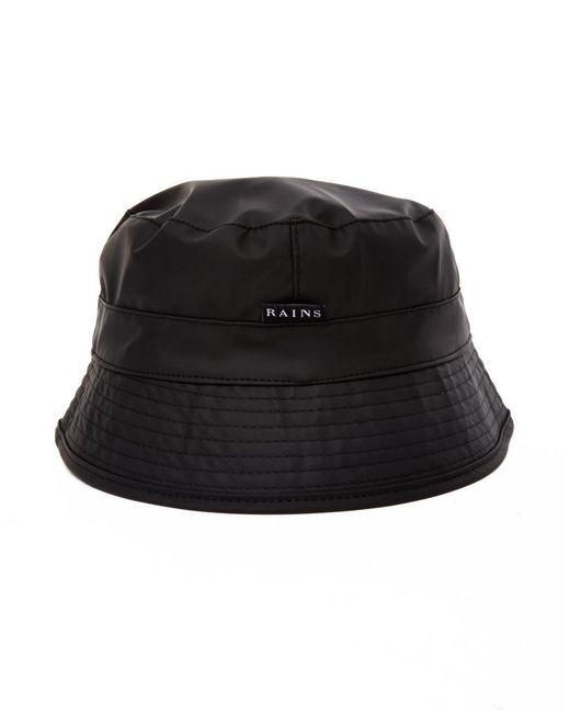 Rains | Bucket Hat Black for Men | Lyst
