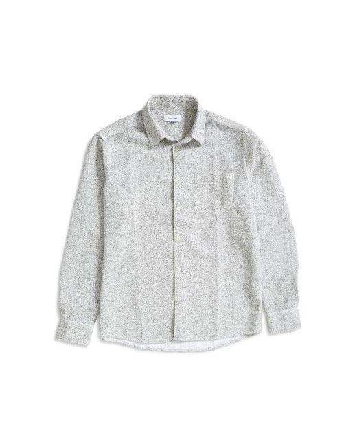 Soulland - Greene Slub Shirt White for Men - Lyst