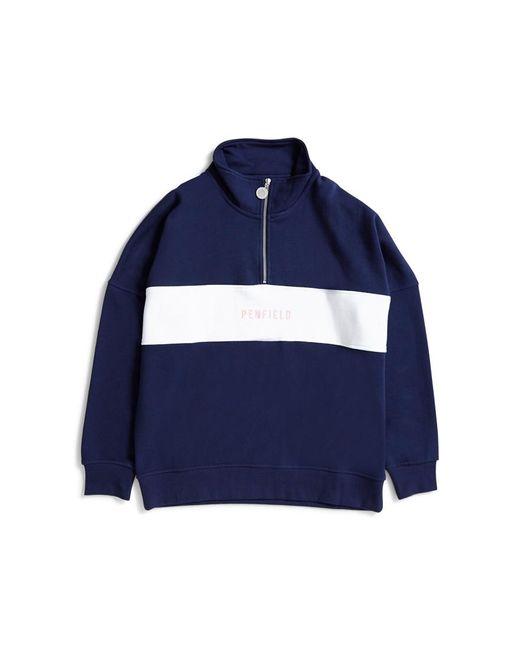 Penfield - Hosmer Sweatshirt Blue for Men - Lyst
