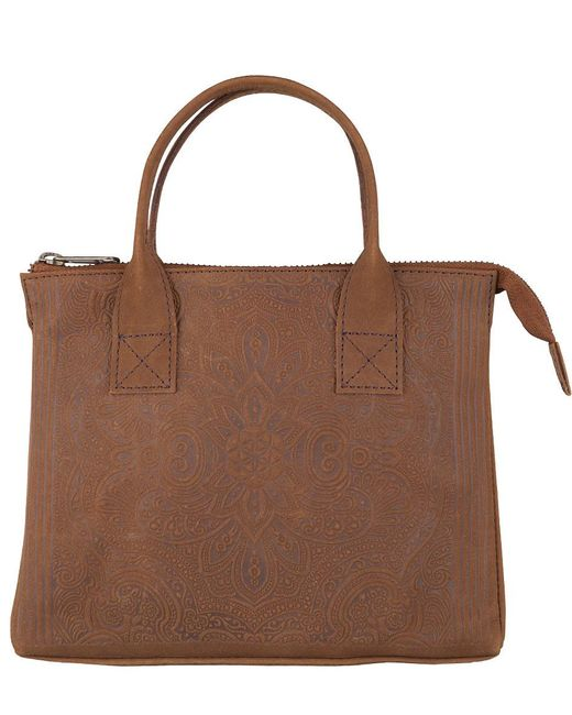 MYOMY - Brown My Classic Bag Flower Of Life 12 Hours - Lyst