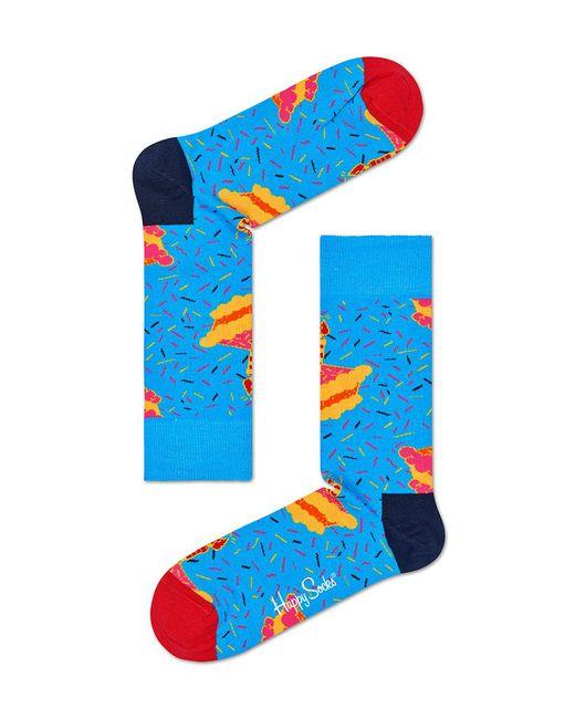 Happy Socks Birthday Gift Box in Blue for Men