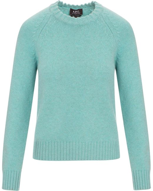 A.P.C. | Blue Stirling Sweater | Lyst
