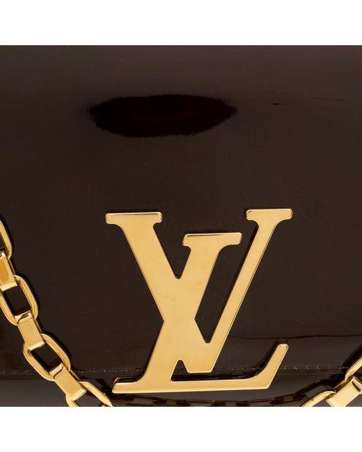 ... Louis Vuitton - Multicolor Amarante Vernis Chain Louise Mm Clutch -  Lyst ... 12a4523d2f5