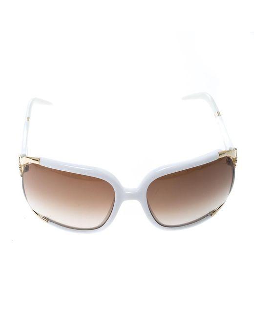 d41fc03ece040 ... Roberto Cavalli - White  Brown Gradient Talisia 370s Oversized  Sunglasses - Lyst ...