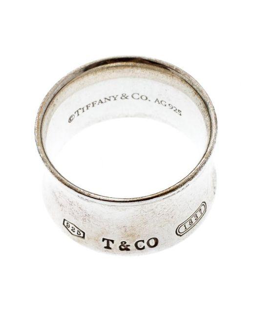37d75722a4e70 Women's Metallic 1837 Silver Band Ring Size 56