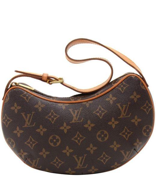 9039334dd379 Louis Vuitton - Brown Monogram Canvas Croissant Pm Bag - Lyst ...