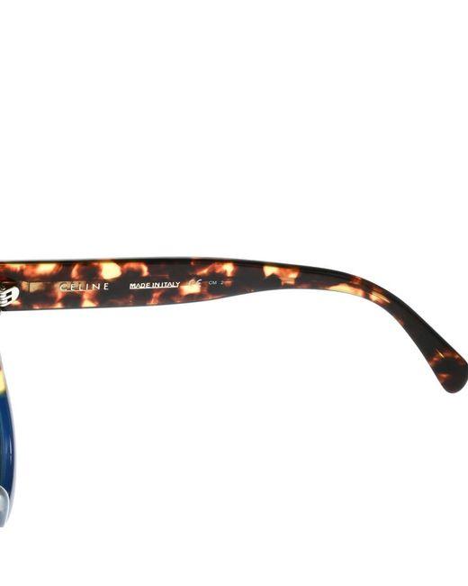 867c250b19f ... Céline - Blue Tortoise  Gradient Cl 41026 s Aviator Sunglasses - Lyst  ...