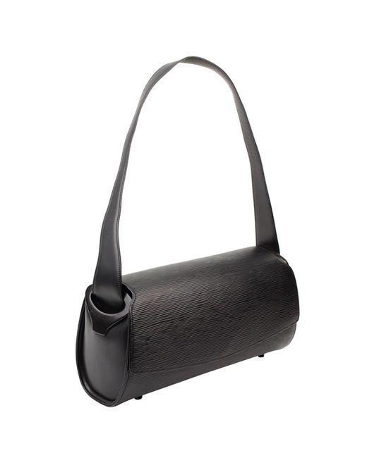 db63eed1 Louis Vuitton Noir Epi Leather Nocturne Pm Bag in Black - Lyst