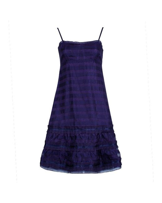 Marc By Marc Jacobs Blue Strappy Dress S