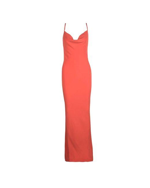 Joseph - Orange Silk Couture Basel Bias Cut Silk Crepe Maxi Dress M - Lyst