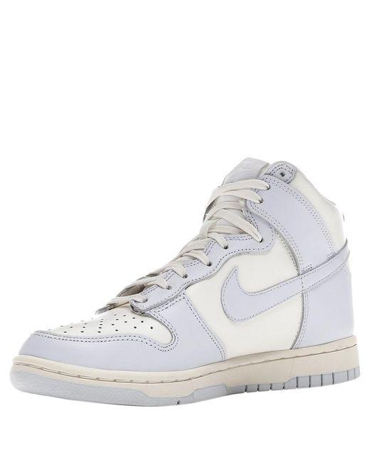 Nike Gray Dunk High Football Grey Sneakers