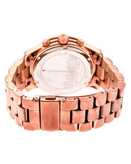 4a398695d03a0 ... Michael Kors - Metallic Silver White Dial Rose Limited Edition Dubai  Mk5771 Women s Wristwatch 38 Mm ...