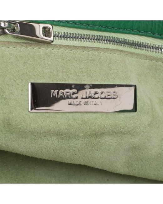 358c830963 ... Marc Jacobs - Green Leather Stella Tote - Lyst ...