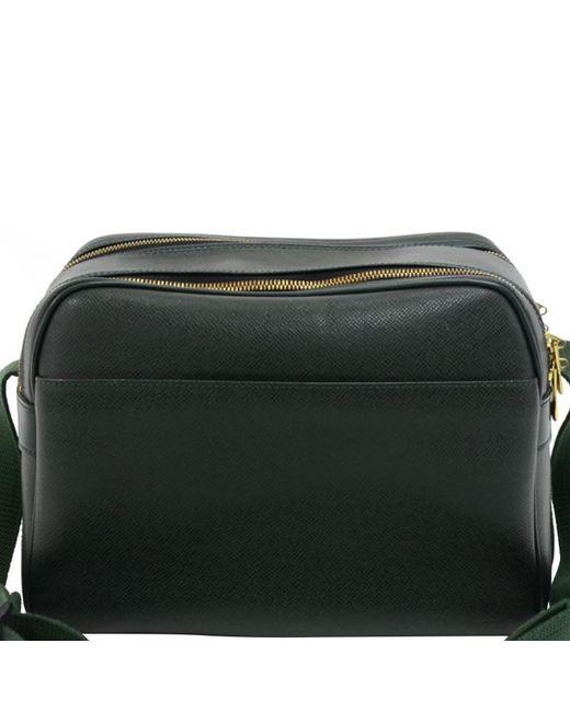 1ec40304a04a Louis Vuitton - Green Epicea Taiga Leather Reporter Bag for Men - Lyst ...